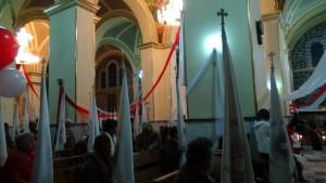 Misa de adoración nocturna en la Parroquia San Pedro y San Pablo