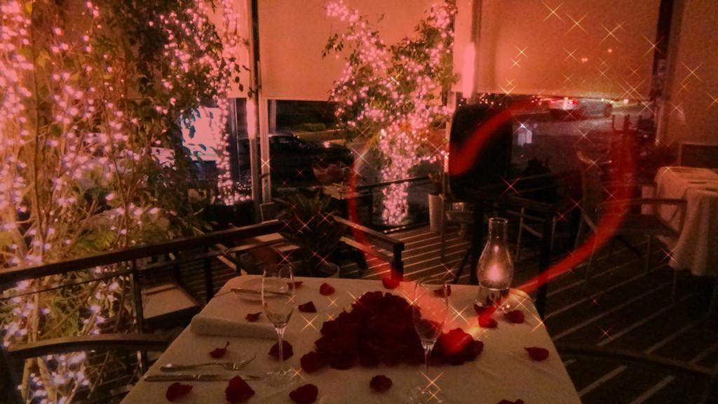 Cena romántica ideal para la entrega del anillo de compromiso
